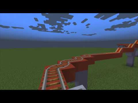 Minecraft Rollercoasters - Episode 2 - Superman Escape