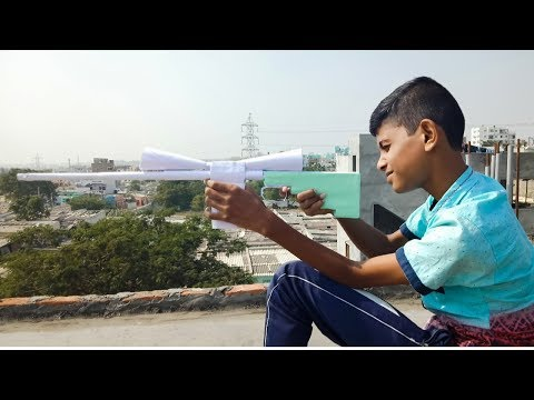 How To Make Big Sniper Gun with Paper   Paper Sniper Toy Gun