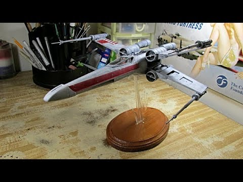 Building The Original Star Wars X-Wing Fighter From 1978  From Start to  Finish