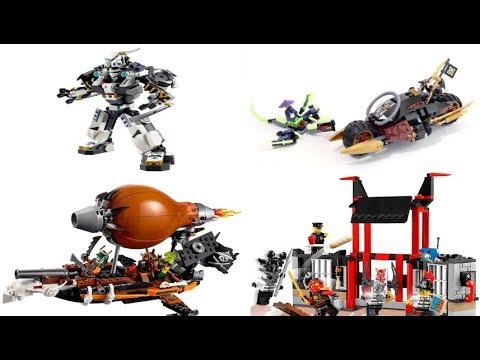 Сборка Лего Ниндзяго .70733,70737,70591,70603 Лего Ниндзя Го. Лего Ниндзяго все серии подряд .