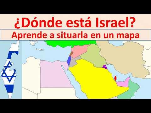 Donde Esta Israel.  Israel Map
