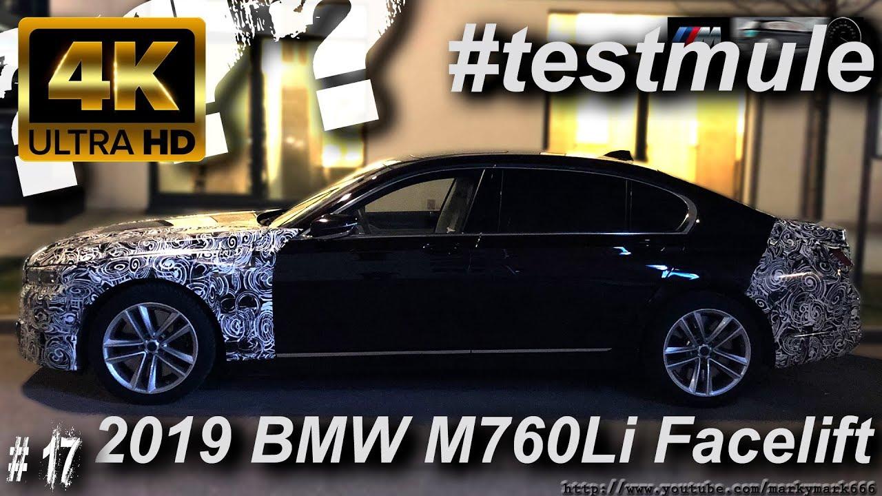 2019 Bmw 7 Series M760li Lci Facelift G11 G12 Test Mule