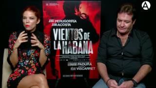 Jorge Perugorría y Juana Acosta, en Vientos de La Habana