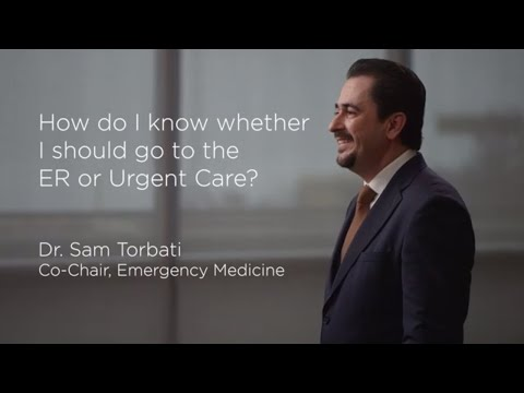 ER vs. Urgent Care | Cedars-Sinai