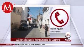Balean a ex fiscal de Guerrero en intento de asalto