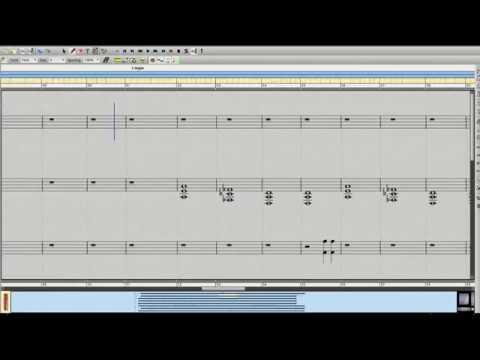 Skyfall made in Rosegarden MIDI software