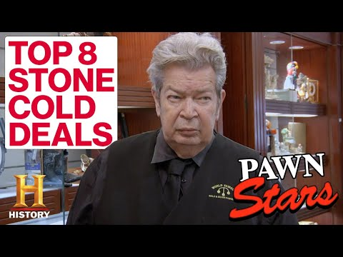 Pawn Stars: The Old Man's Top 8 *STONE COLD* Deals   History