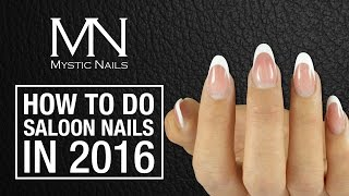 Mystic Nails - How to do Salon gel nails with Classic Line - Deluxe Gels video