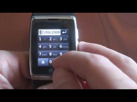 LG 3G Watch Phone First Time Setup | Pocketnow