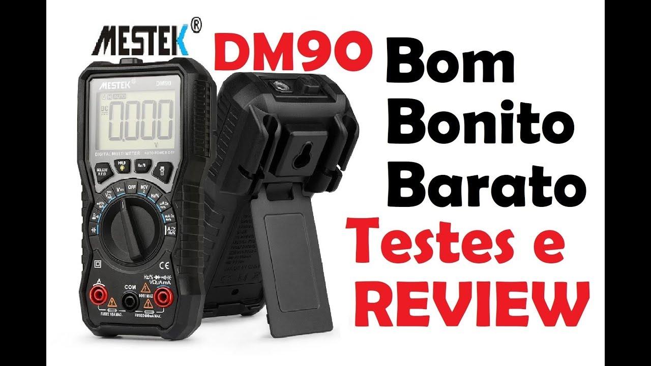 mestek dm90 multimetro bbb testes e pre os review [ 1280 x 720 Pixel ]