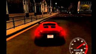 Metropolis Street Racer Free Roam Gameplay (Dreamcast)
