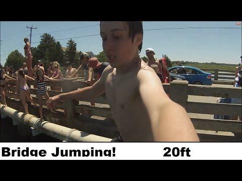 bridge jumping in Cape Cod
