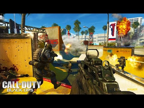 Call Of Duty Black Ops 2  Funny Moments - Domination & Party Games & EPIC Try-Harding - Call Of Duty