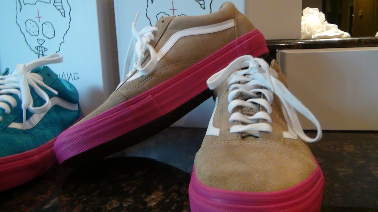 86fd21011b Odd Future Golf Wang X Vans Syndicate Old Skool Pro Wheat - YouTube