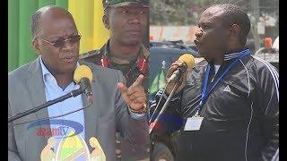 Rais Magufuli 'amkaanga' hadharani Mkurungenzi Butiama kisa mamilioni ya ujenzi wa hospitali