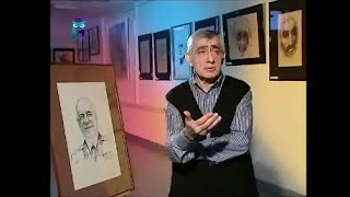 Фридон Асланян, художник, архитектор, автор портретов, исполненных в технике – штамп
