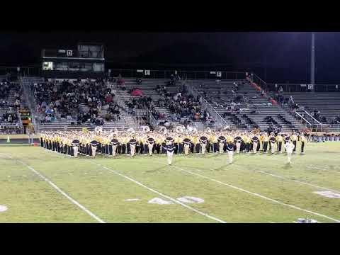 Nederland High School Band vs Vidor Oct 25 2019