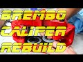 How to Rebuild a Brembo Brake Caliper | Brembo WillWood Rebuild