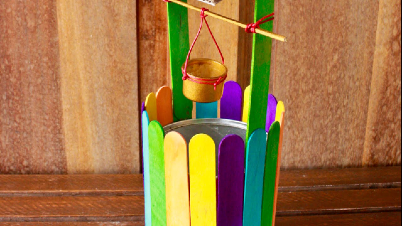 How To Construct A Mini Colorful Wishing Well DIY Crafts Tutorial Guidecentral YouTube