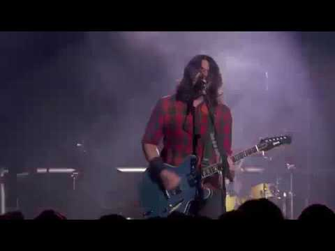 Foo Fighters White Limo  from UK 24 02 2017
