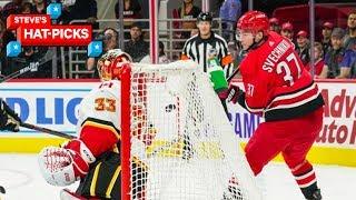 NHL Plays Of The Week: Svechnikov Scores GOAL OF THE YEAR   Steve's Hat Picks