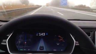TESLA Model S Autopilot Testfahrt - Funktioniert er wirklich?