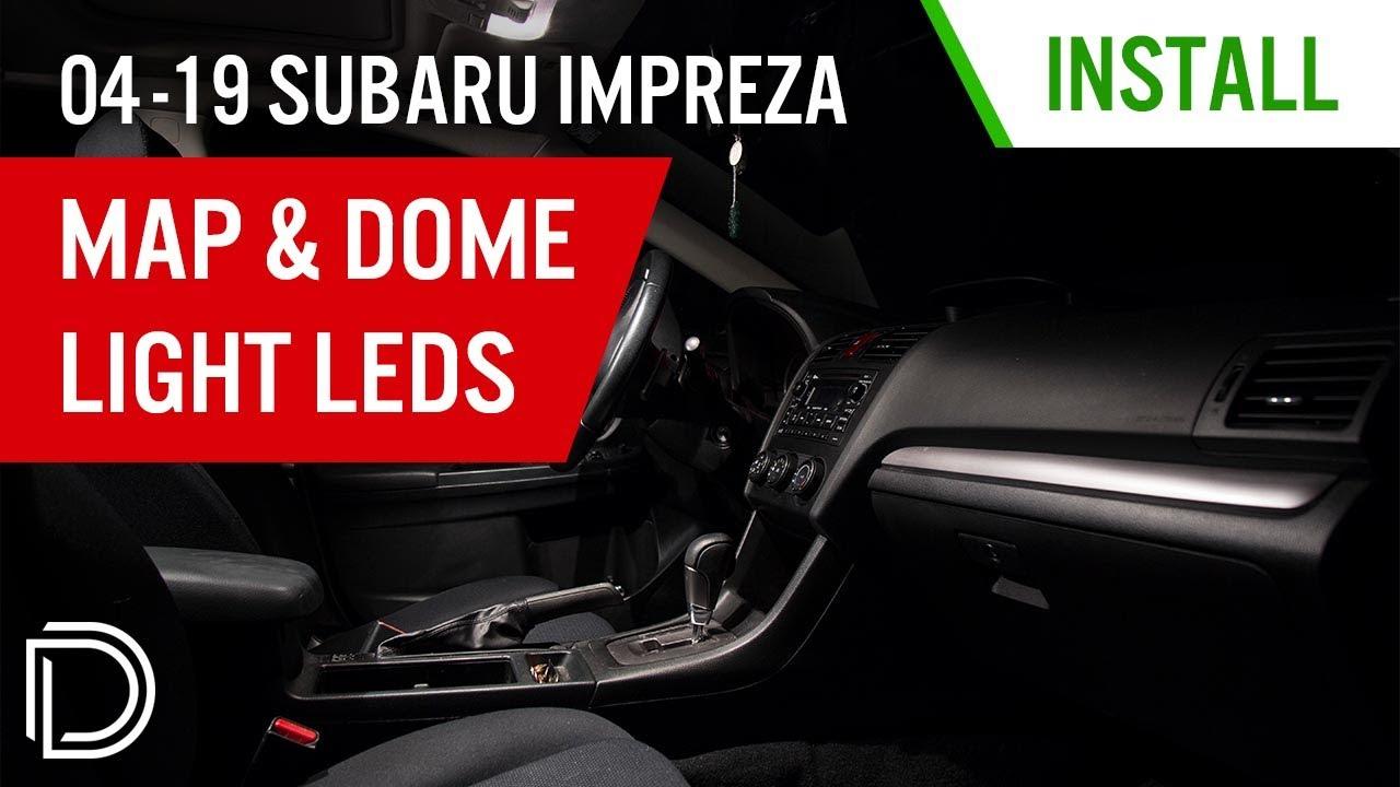 How To Install 2004 2017 Subaru Impreza Map Light Leds Diode Automotive Led Wiring Diagram Dynamics