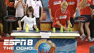 Team USA vs Team Germany 2007 Sport Stacking Championship ESPN 8 The Ocho
