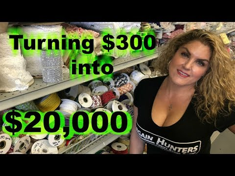 Storage Wars Buying a Unit for $300 and Turning it into $20,000 With Casey Nezhoda