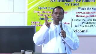 Pastor.Anish kavalam