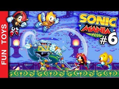 Sonic Mania PLUS #06 🔵 Recuperamos TODOS os personagens neste gameplay PRESS GARDEN em Português