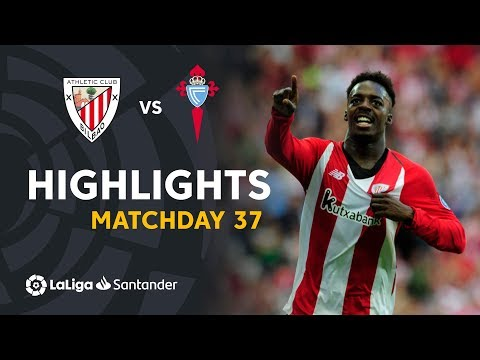 Highlights Athletic Club vs RC Celta (3-1)