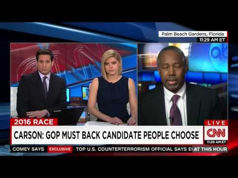 Ben Carson defends Trump campaign manager