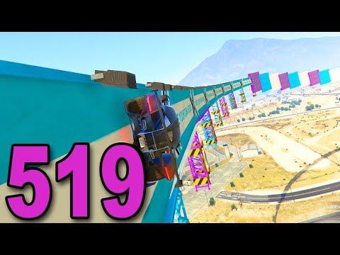 Grand Theft Auto 5 Multiplayer - Part 519 - INSANE WALLRIDES!