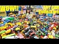Our KIDS' TOY CAR Collection! Boxes of Toy Cars and Toy Trucks! Hot Wheels, Matchbox and More