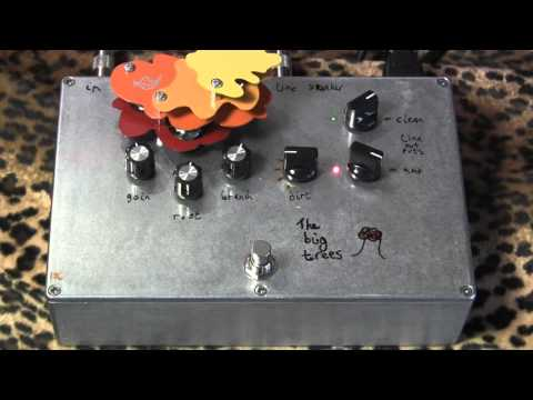 Audio Kitchen THE BIG TREES tube Class A Amp, meets pedal, meets Gearmanndude