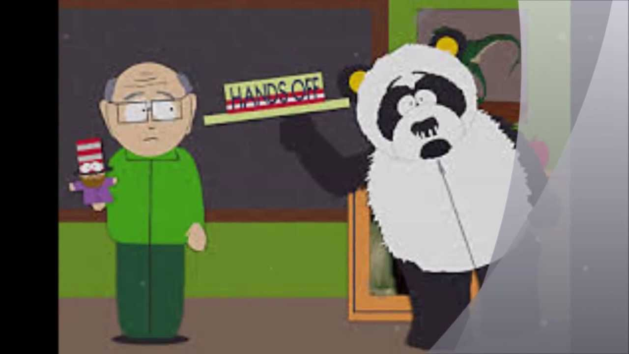 Sexual harassment panda theme