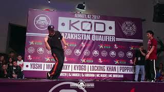 Asan vs Alik   Hip-Hop 1*1   KOD Kazakhstan