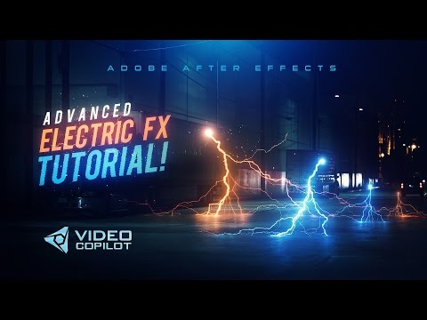 Advanced Electric FX Tutorial! 100% After Effects!