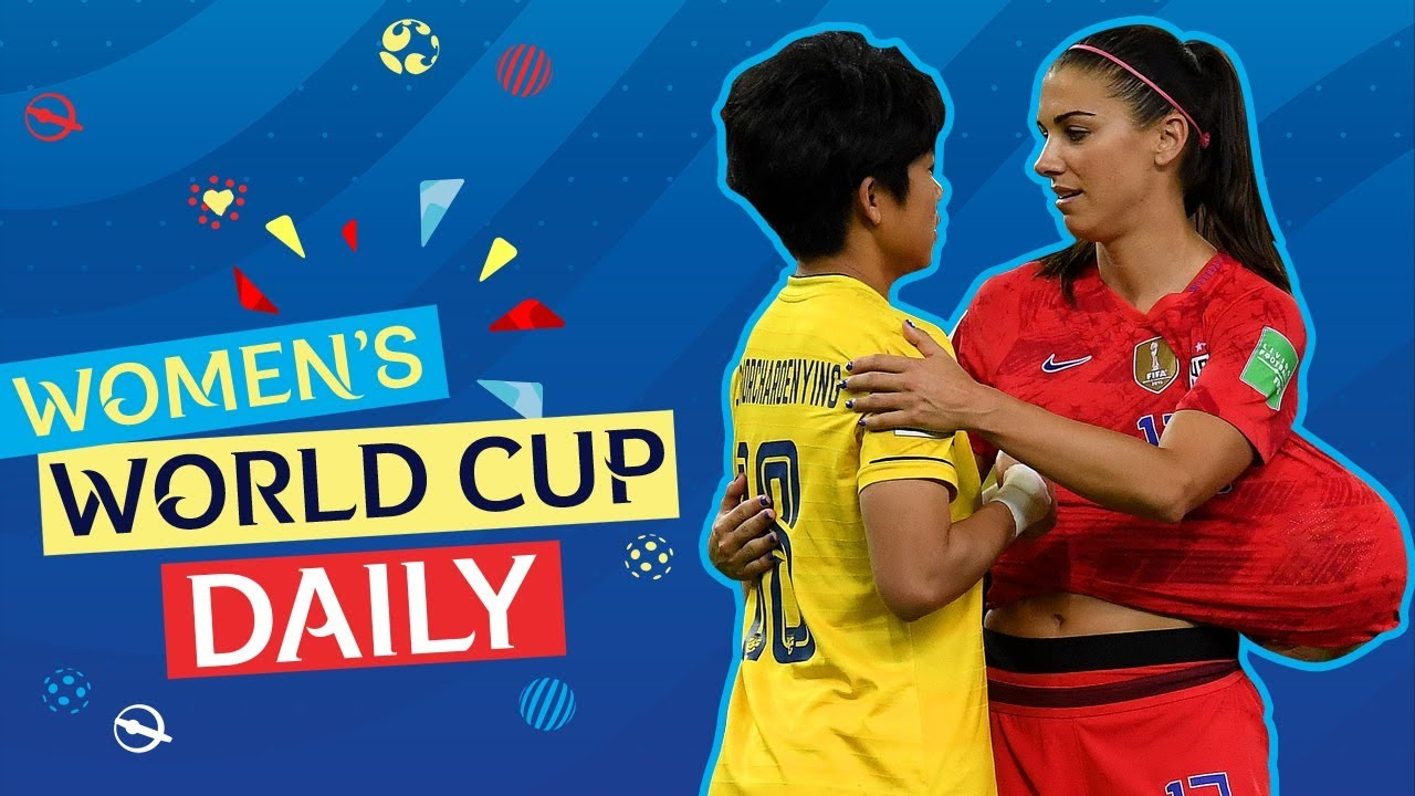 Alex Morgan fires USA to a record-breaking victory | Women's World Cup Daily