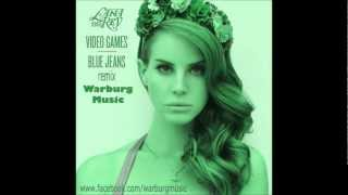 Lana Del Rey - Video Games - Warburg music - instrumental karaoke remix free download HD
