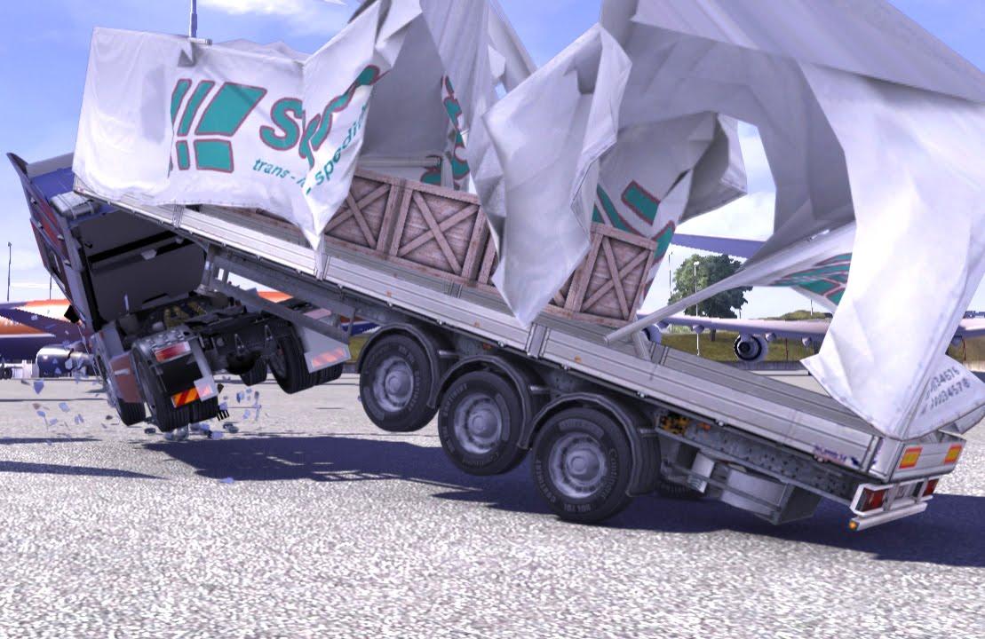 Trailer Tent Morphing Mod - ETS e - Truck Simulator ...