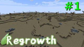 【Minecraft】この荒廃した大地を緑地にするPart1【ゆっくり実況】r…