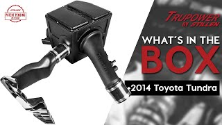 homepage tile video photo for 2014-2020 Toyota Tundra 5.7L Cold Air Intake Kit | What's In The Box