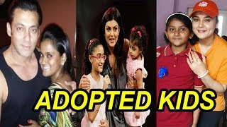 Top 5 Bollywood Celebs Who Adopted Kids  | FWF
