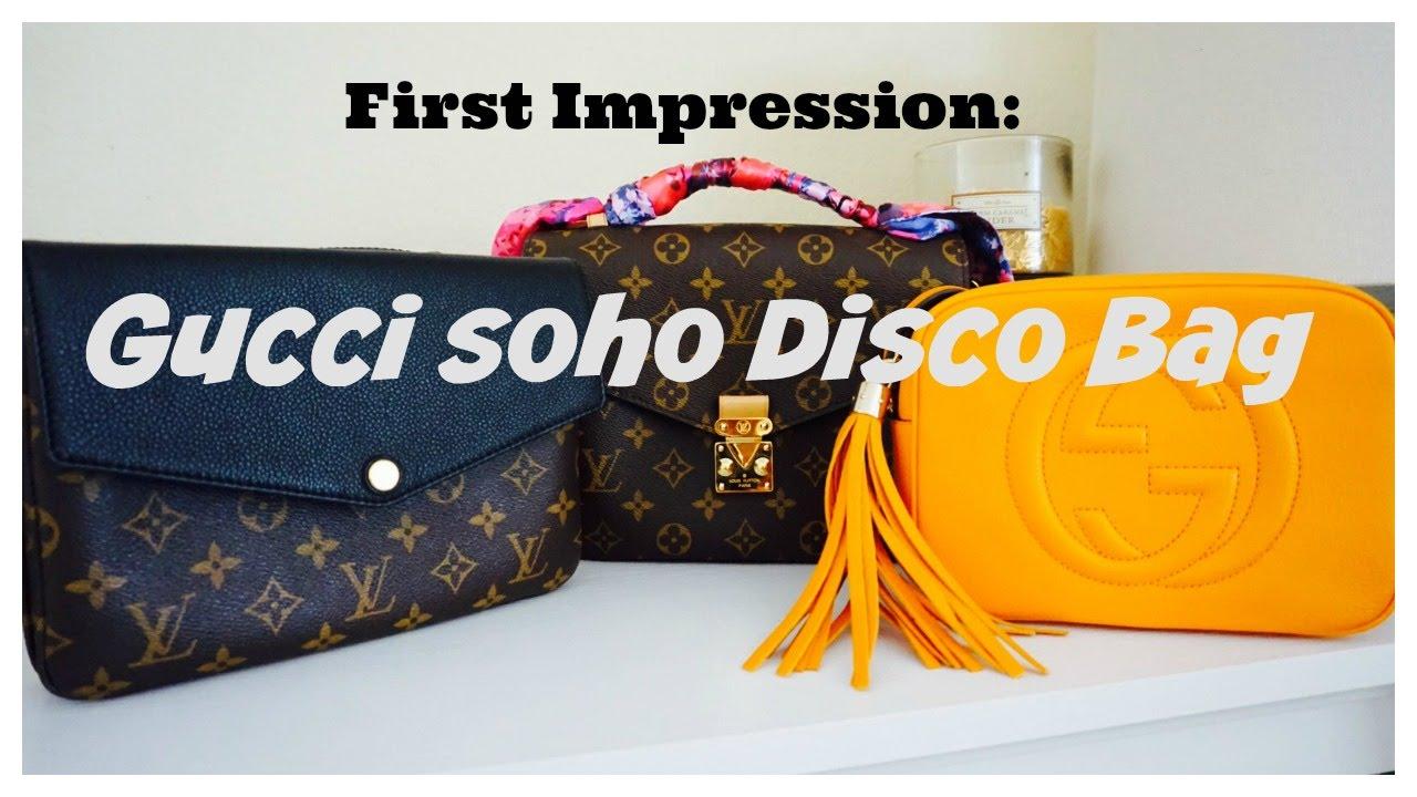 f52b5cbf6093fa First Impression: Gucci Soho Disco Bag - YouTube