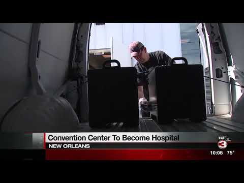 NOLA convention center to become field hospital