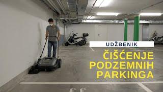 HBS No8 Čišćenje podzemnih parkinga