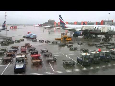 Sheremetyevo International Airport Moscow - November 16, 2013