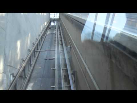 ***MUST SEE*** Riding The Inclinator At Huntington Metro Station With Dieselducy